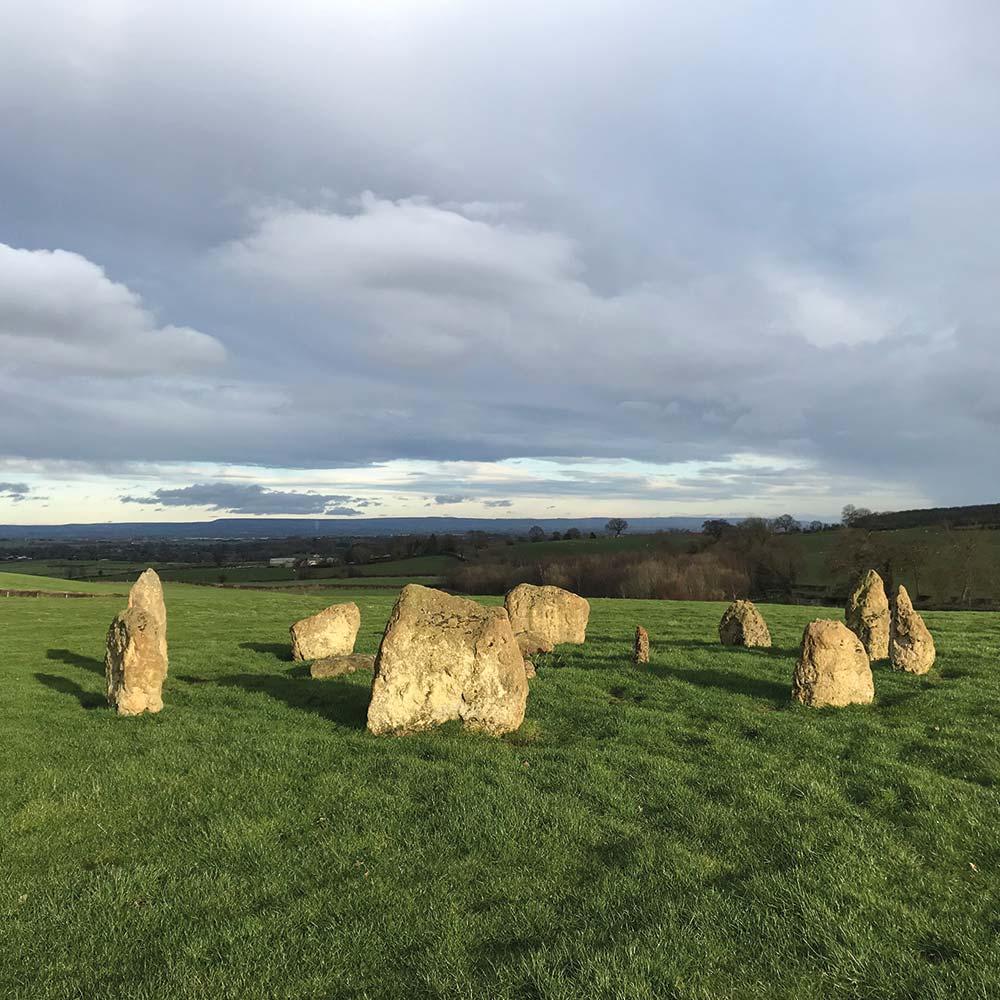 Yogaspace Yorkshire druid stone circle