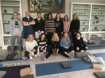 Vicky Fox Retreat Group at YogaSpace Yorkshire