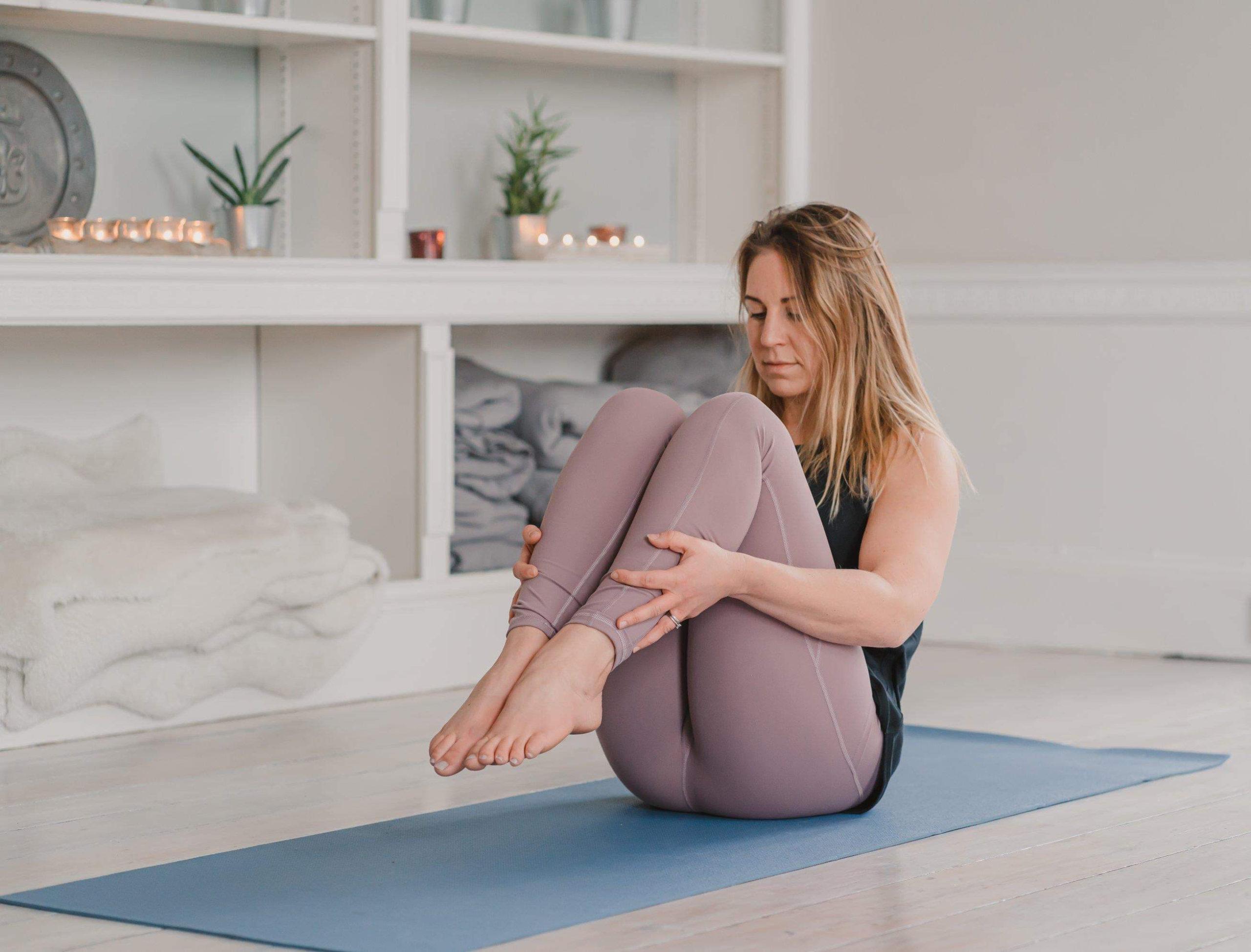 Jade vinyasa yoga teacher at YogaSpace Yorkshire