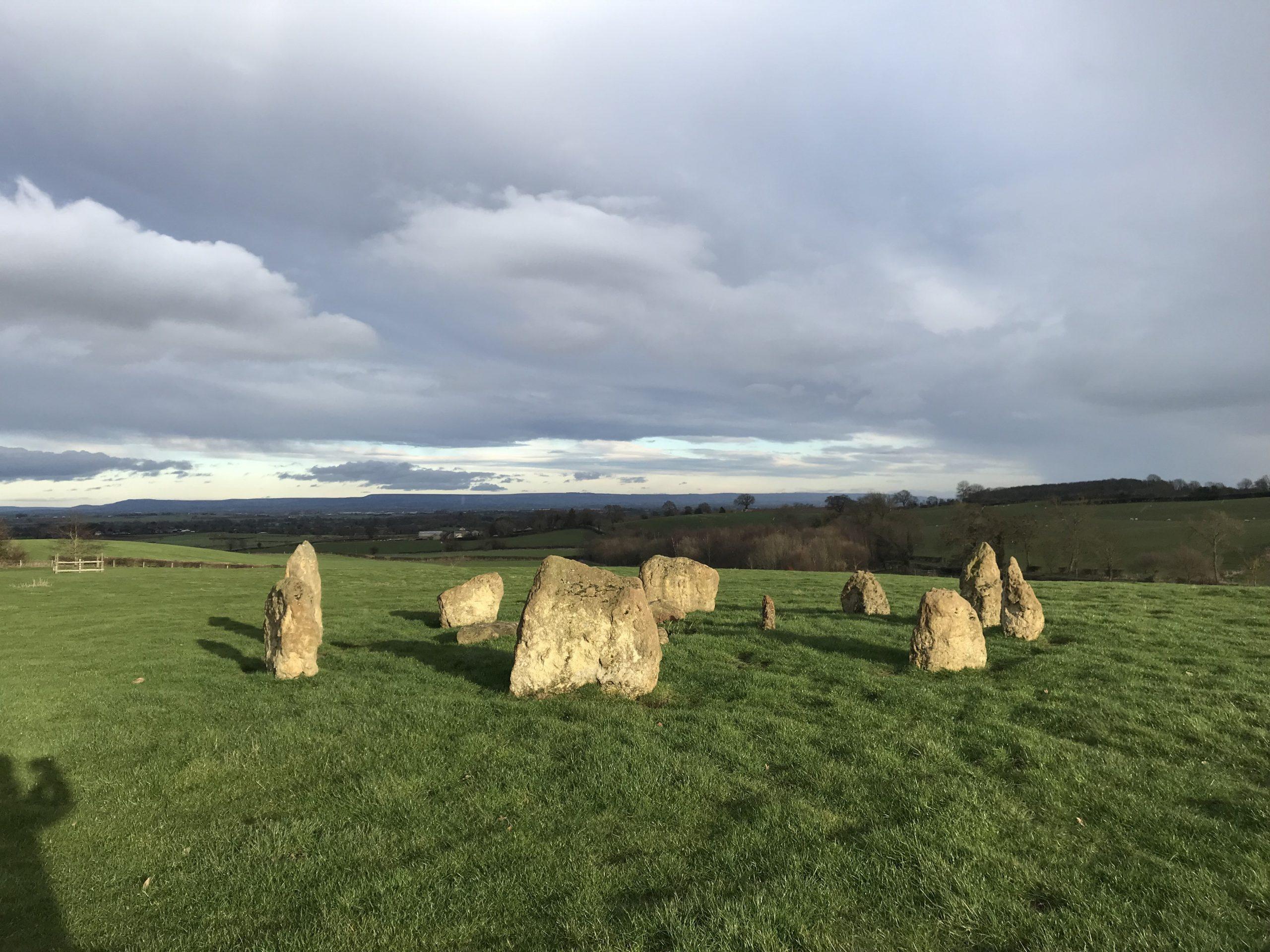 YogaSpace Yorkshire mini-Stonehenge summer solstice
