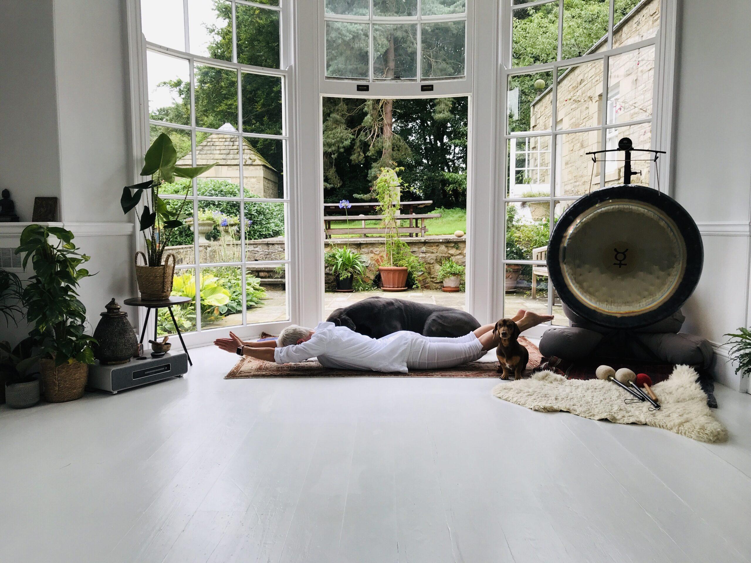 Kundalini yoga Warrior Class at YogaSpace Yorkshire