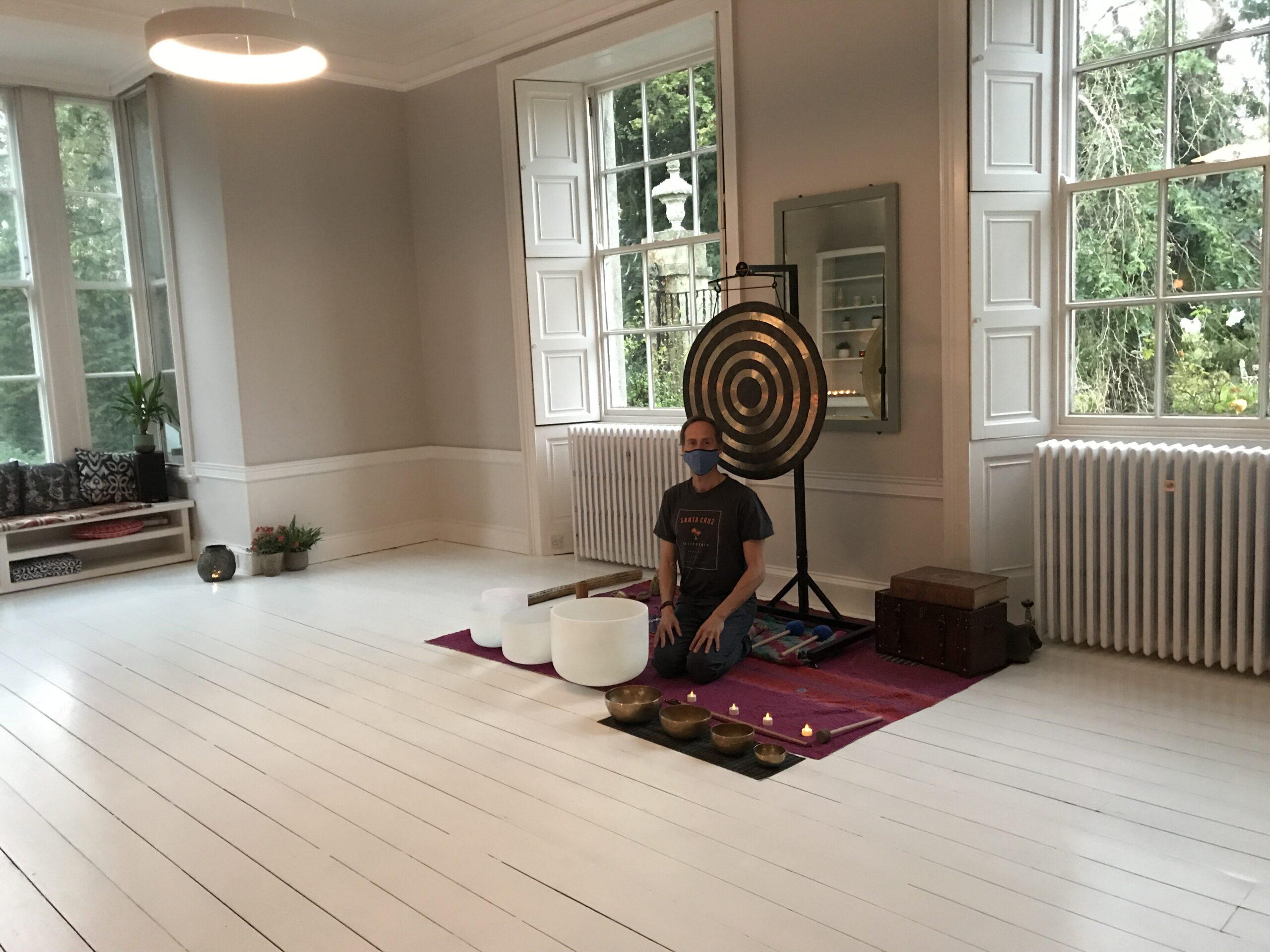 Soundbath at YogaSpace Yorkshire